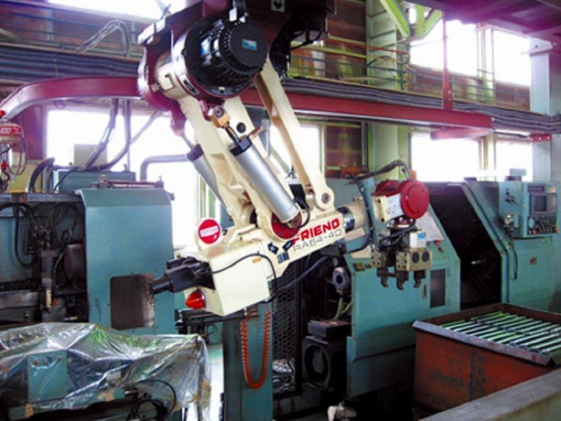 シャフト移載ロボットシステム